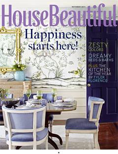House Beautiful - October 2011 issue